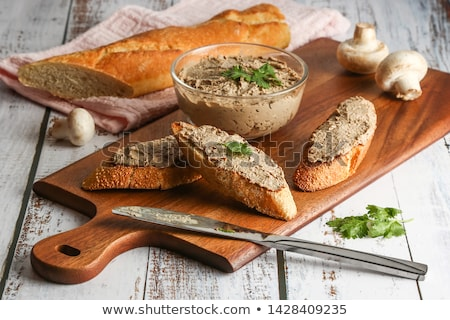 Fresh baguette with pate stock photo © Digifoodstock