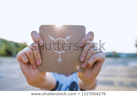 man and transgender symbol Stock photo © nito