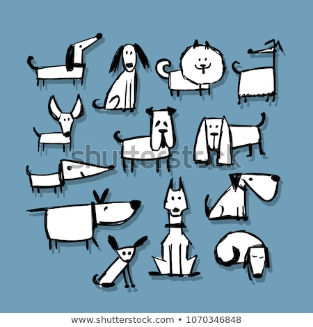 cartoon · jack · russell · terrier · bal · illustratie · hond · grafische - stockfoto © curiosity
