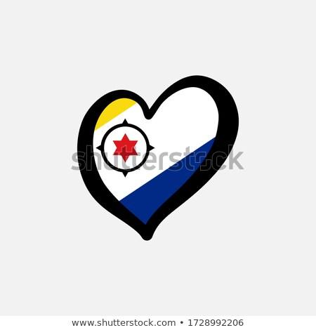 kalp · bayrak · vektör · görüntü · bilgisayar · soyut - stok fotoğraf © Amplion