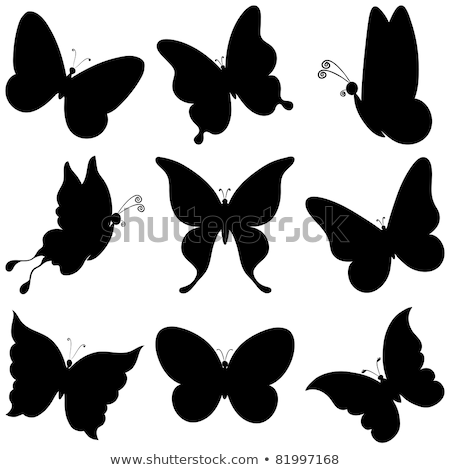icon in the form of animal silhouettes stock photo © olena