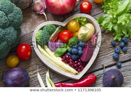 Saine recettes 3d illustration signe alimentaire santé Photo stock © 72soul