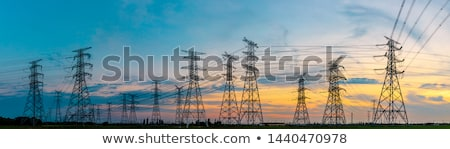 Panoramic high voltage Stock photo © tracer