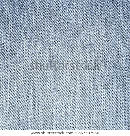 Jeans Denim Texture. Light Gray Blue Color. Stock photo © ESSL