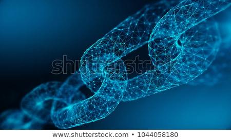 сеть технологий цепь аннотация бизнеса Сток-фото © popaukropa
