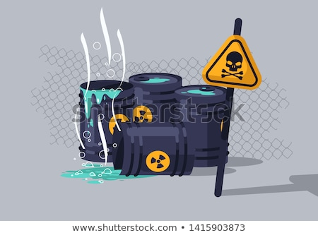 Environmental Hazard Stock photo © paulfleet