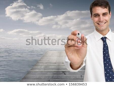 Imagem mão escrita marcador suicídio Foto stock © wavebreak_media