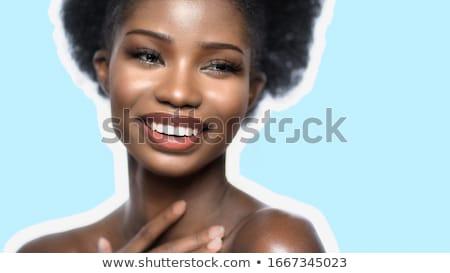 gyönyörű · nő · megérint · csípők · emberek · szépség · test - stock fotó © feedough