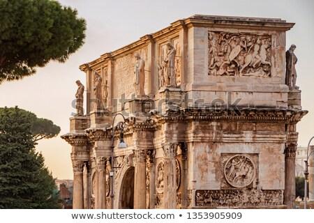 Колизей дуга Солнечный лет день Рим Сток-фото © Givaga