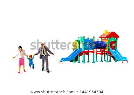 набор изолированный Kid площадка иллюстрация детей Сток-фото © bluering