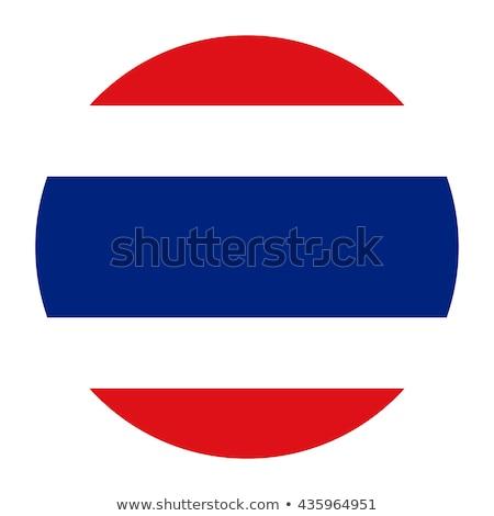 Thaiföld zászló gomb illusztráció terv háttér Stock fotó © colematt