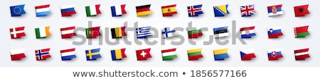 europe united kingdom france spain italy portugal and germany vector maps stock photo © conceptcafe