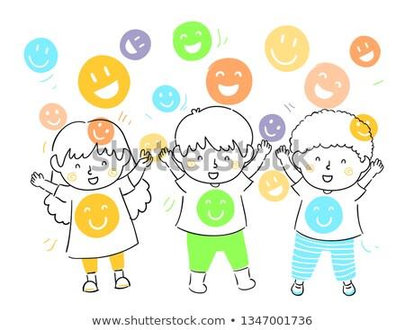 mascot smiley shower illustration stock photo © lenm
