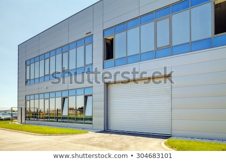 detail of industrial building wall stock photo © simazoran