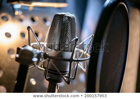 Voice recording studio Stock photo © jossdiim