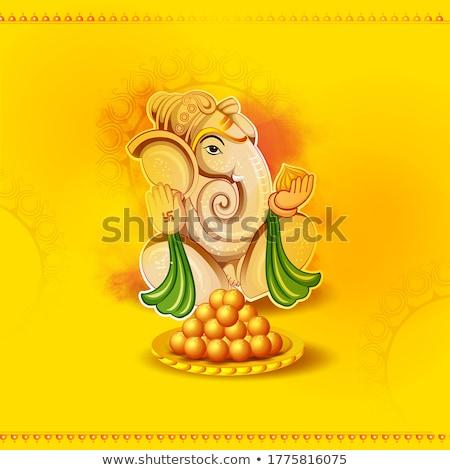 Indiai emberek ünnepel fesztivál India illusztráció Stock fotó © vectomart