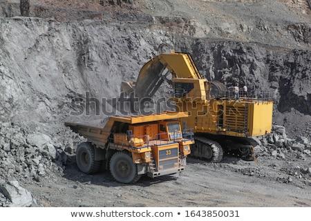 古い · 鉱山 · スペイン · 空 · 山 - ストックフォト © pedrosala
