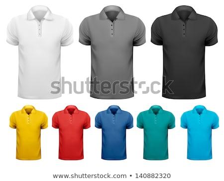 white black orange t shirt design templates front back stock photo © experimental