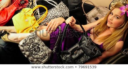szczęśliwy · kobiet · mąż · chłopak · zakupy - zdjęcia stock © hasloo