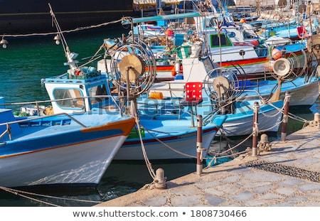 Greek fishery boat Stock photo © ivonnewierink