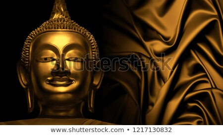 golden asian statues Stock photo © smithore