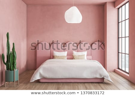 Pink Bedroom Stock photo © Spectral