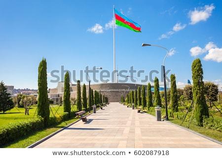 Azerbaijão vetor carimbo imagem mapa papel Foto stock © perysty