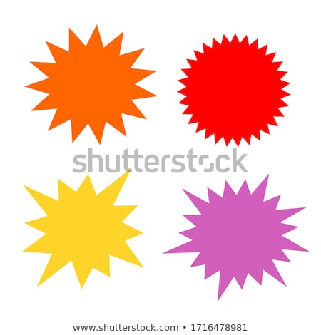 Starbursts illustrations Stock photo © experimental