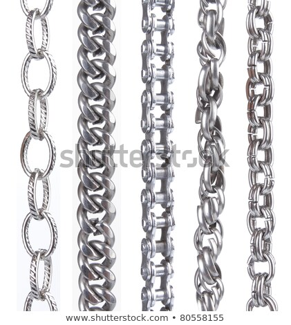 chained silver slave Stock photo © prill