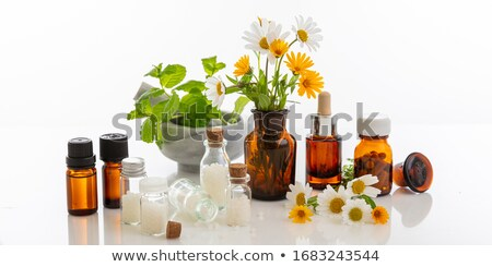 стекла · бутылку · белый · медицинской · контейнера · тег - Сток-фото © wavebreak_media