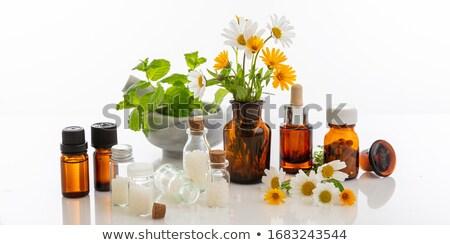 glas · fles · witte · medische · container · tag - stockfoto © wavebreak_media