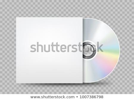 White CD-ROM Stock photo © Givaga