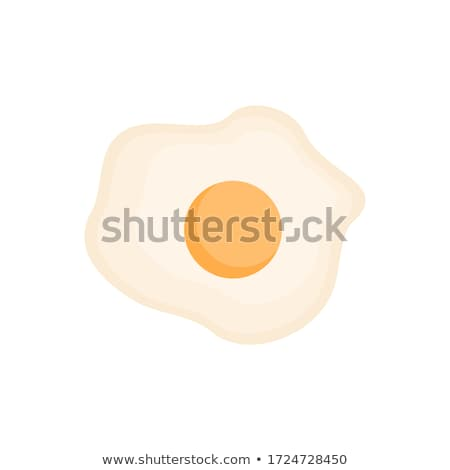 晴れた 卵 朝食 白 黄色 ストックフォト © lokes