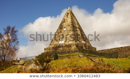Star Pyramid at Stirling, Scotland Stock photo © TanArt