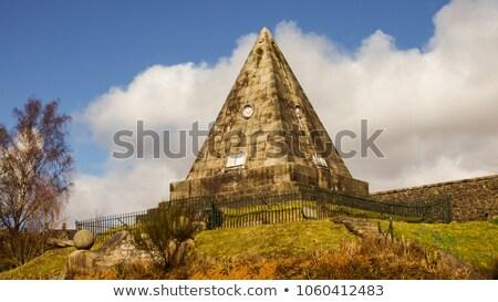 Star Pyramid at Stirling, Scotland stock photo © TanArt