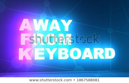 lol · Internet · düğme · modern · bilgisayar · klavye · arka · plan - stok fotoğraf © tashatuvango