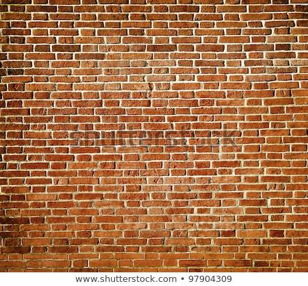 Cara parede de tijolos templo bali decorado Foto stock © searagen