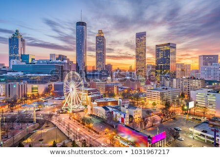 Downtown Atlanta in the evening Stock photo © AndreyKr