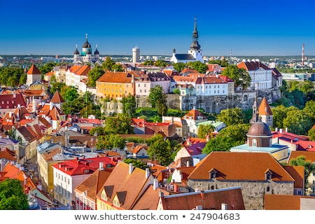 View from Toompea Hill, Tallinn Stock photo © chrisdorney