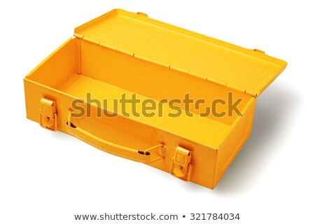 Opening Up Metal Toolbox Latch  Stock photo © tab62