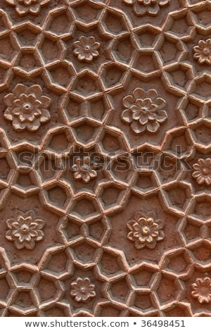 Stone carving details - India Stock photo © danielgilbey