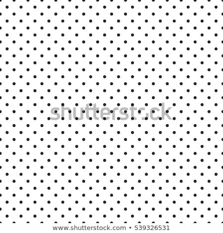 seamless retro pattern with dots stock photo © lordalea