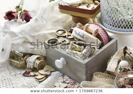collection of old drawers Stock photo © taviphoto
