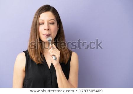 Stock photo: Enjoying taste