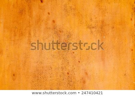 velho · enferrujado · superfície · metálica · textura · parede - foto stock © zerbor