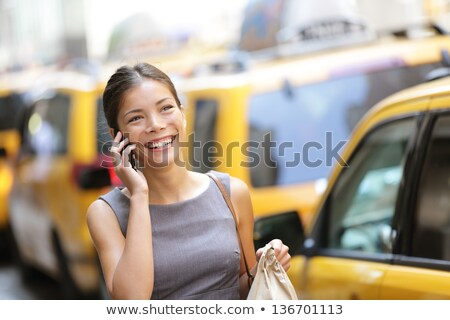 young urban professional business woman new york stock photo © maridav
