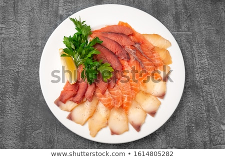 Fish platter Stock photo © maxsol7
