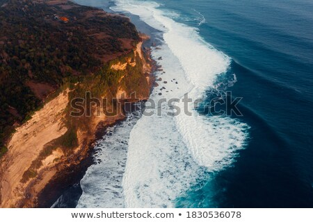 Crashing Rocks on a Secluded Coast Stock photo © wildnerdpix