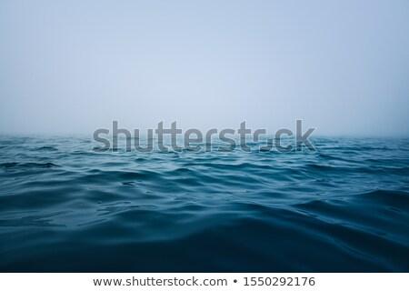 Ocean · nebbia · orizzonte · coperto · onde - foto d'archivio © Jumbo2010