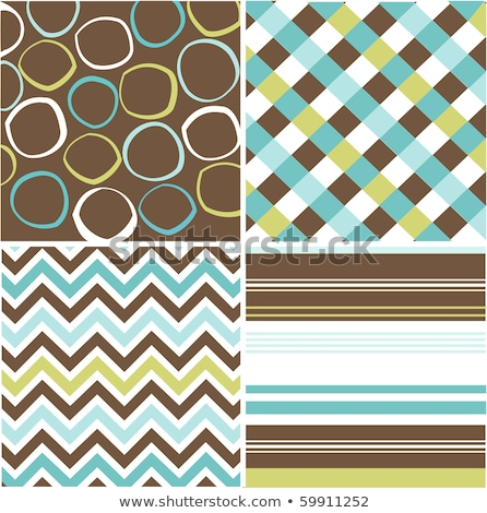 Squares seamless pattern brown colors Stock photo © aliaksandra